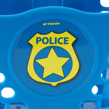 Police Pannier with Extra Stickers