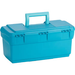 300 Horseback Riding Grooming Case - Turquoise