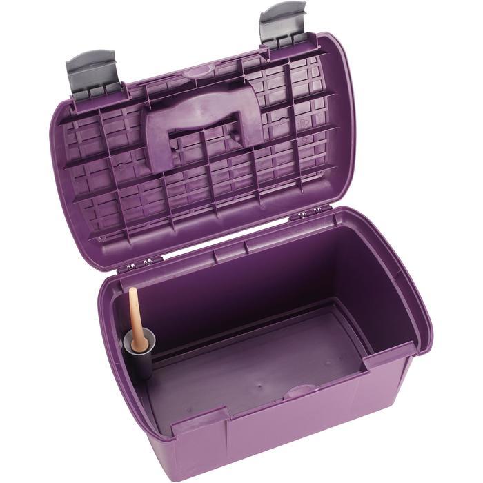 Putzkasten 500 violett/grau