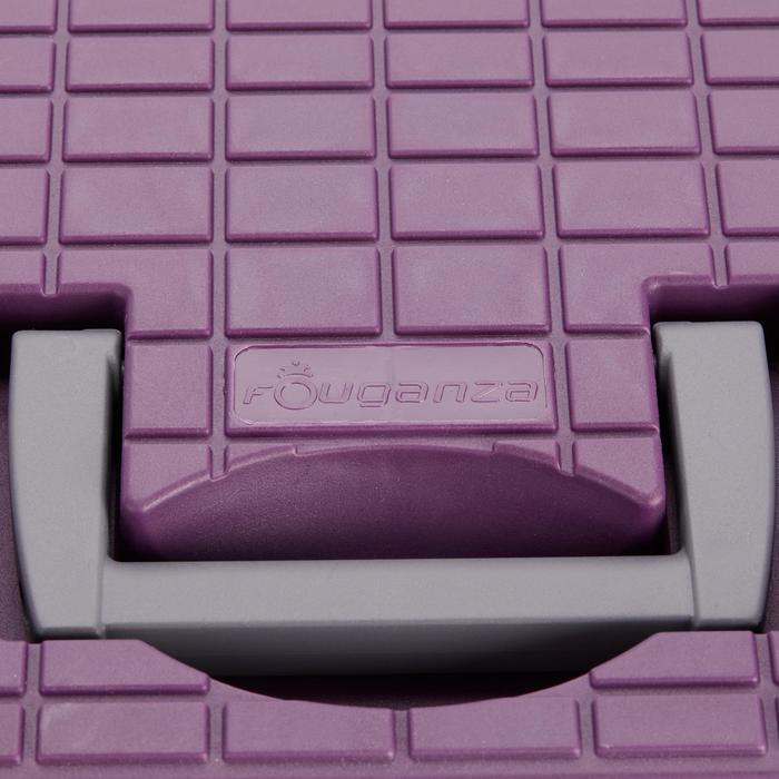 Putzbox 500 violett/grau