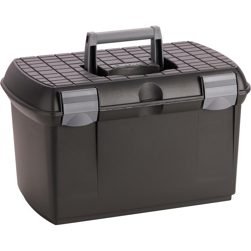 Box 500 na jezdecké čisticí pomůcky černý