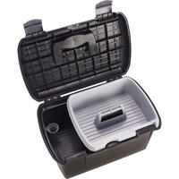 500 Horseback Riding Grooming Box - Black/Grey