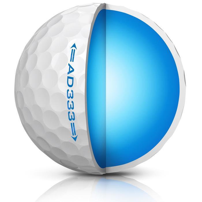 Balle de golf AD333 X12 Blanc