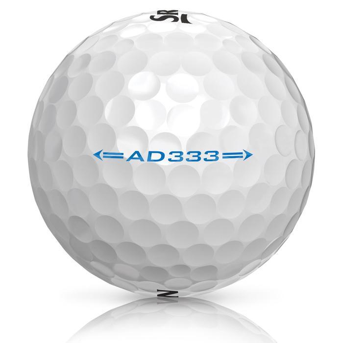 Bola de golf AD333 x12 Blanco