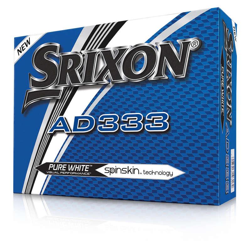GOLFOVÉ MÍČKY Golf - MÍČEK AD333 BÍLÝ 12 KS SRIXON - Míčky a příslušenství
