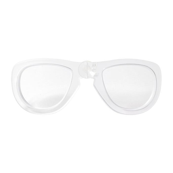左側近視矯正鏡片(面鏡Easybreath專用)(醫療器材)