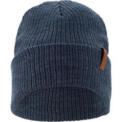 成人滑雪帽Fisherman - 軍藍色