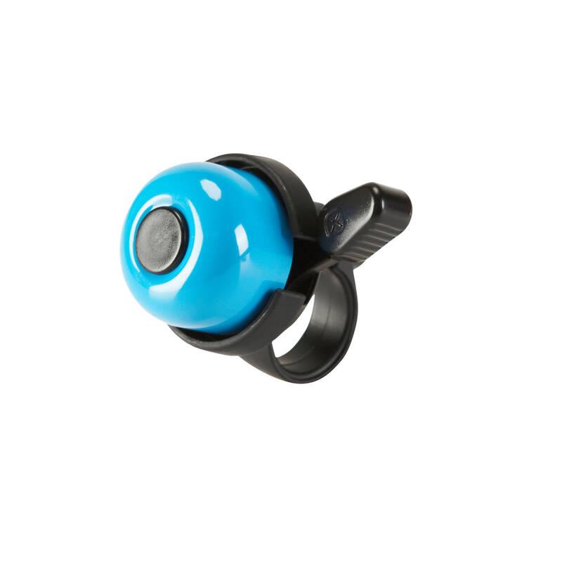 BEZPEČNOSTNÉ DOPLNKY NA BICYKLE CYKLISTIKA - Zvonček na bicykel 100 modrý ELOPS - CYKLISTIKA