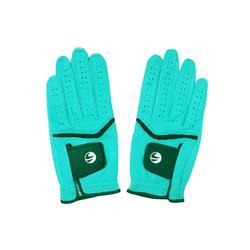500 Women's Golf Advanced and Expert Glove Pair - Blue