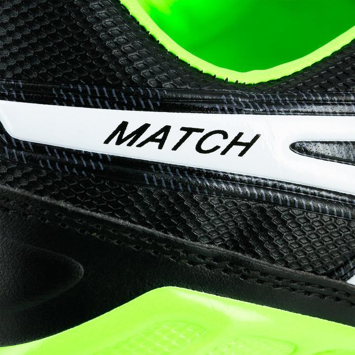Rugbyschuhe Match Erwachsene schwarz/grün