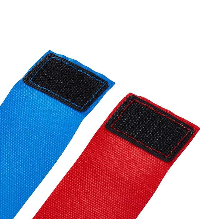CEINTURES FLAG RUGBY 500 Bleu/rouge