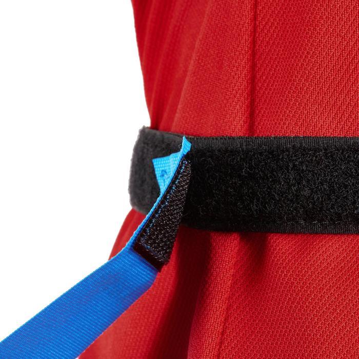 Rugby-Gürtel Flag Belt R500 mit Fahnen blau/rot