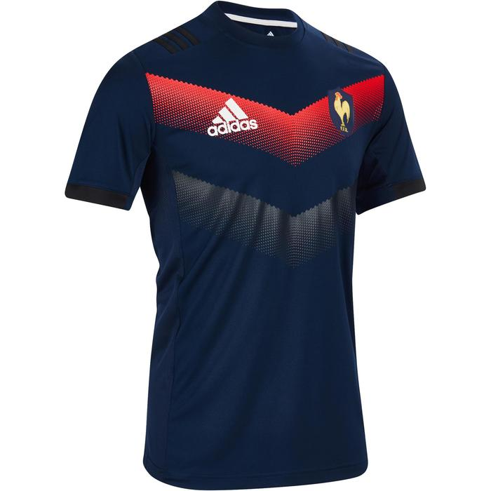 Performance Tee rugby  FRANCE 17-18 - 1243593