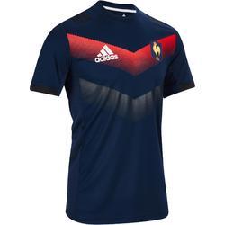 Performance rugby T-shirt Frankrijk 17-18