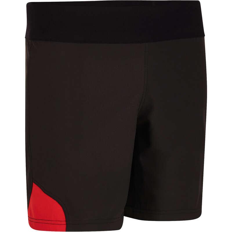 OBLEČENÍ NA RAGBY Ragby - RAGBYOVÉ KRAŤASY R500 ČERNÉ OFFLOAD - Oblečení na ragby