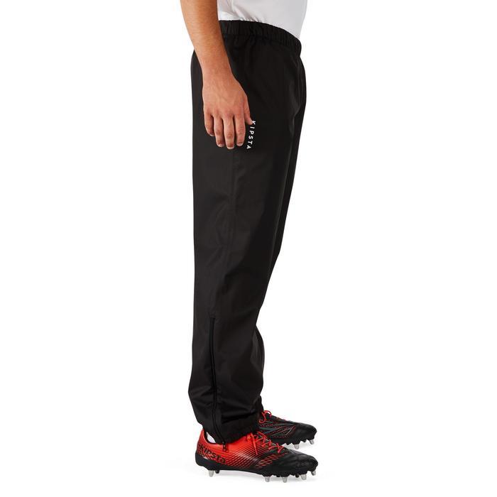 Pantalon coupe vent imperméable rugby adulte Smockpant noir - 1243613