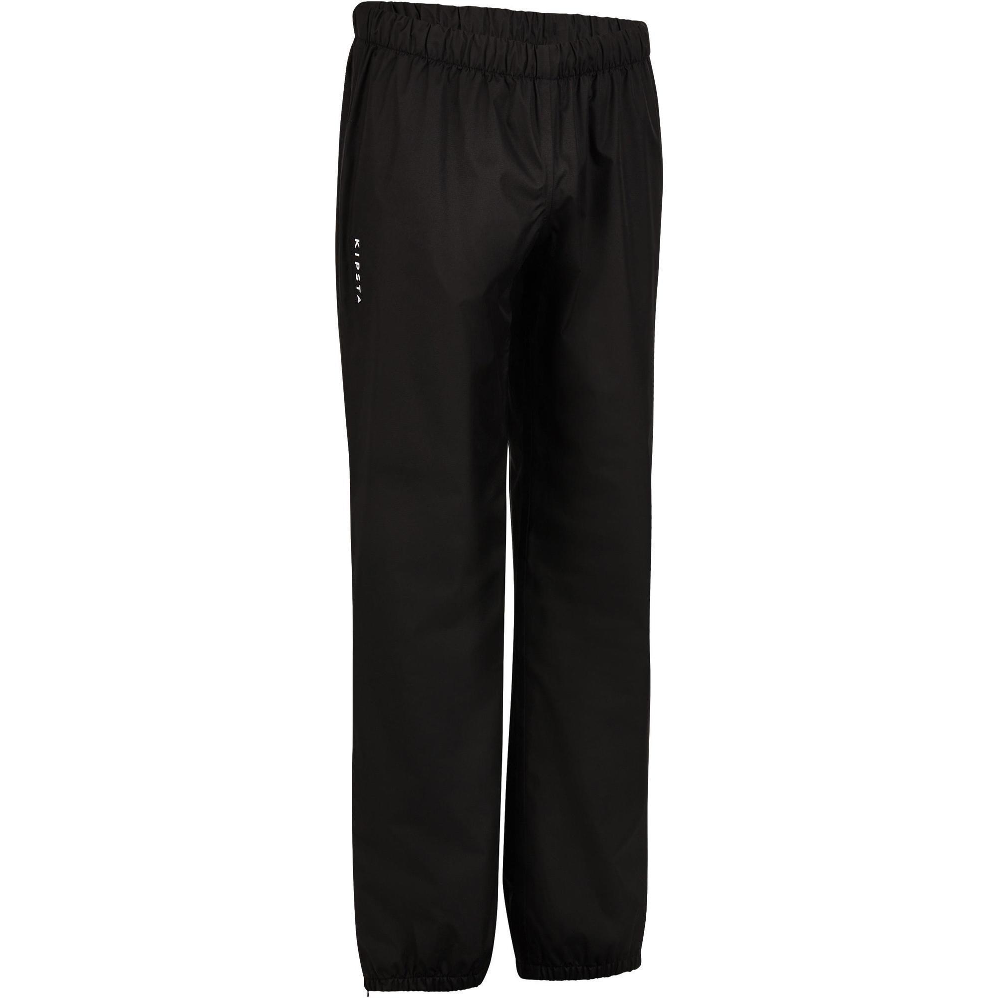 Offload Wind- en waterdichte rugbybroek voor volwassenen smock pants zwart