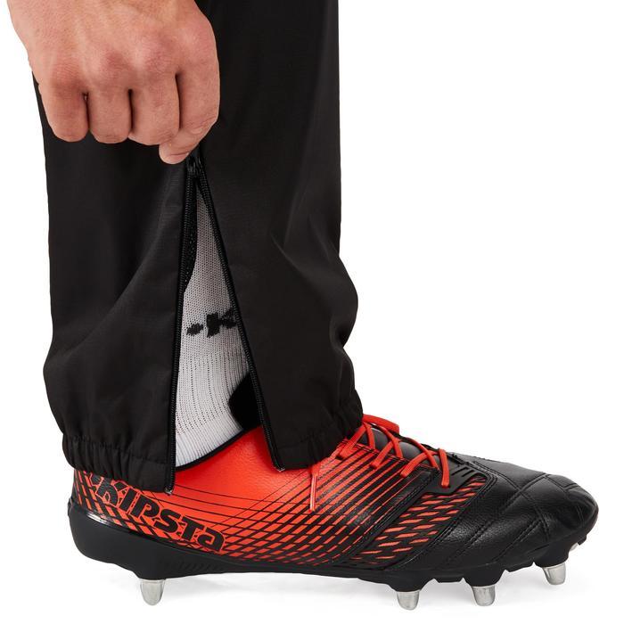 Pantalon coupe vent imperméable rugby adulte Smockpant noir - 1243617