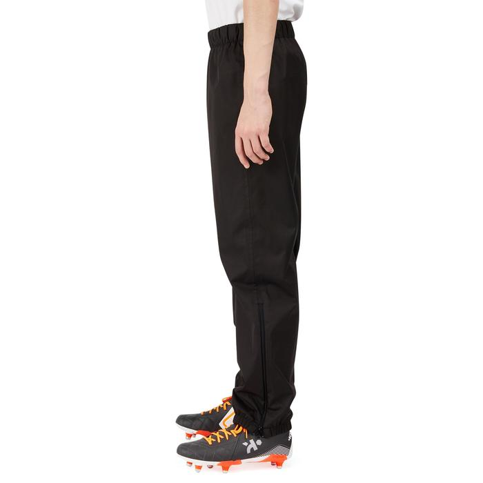 Trainingshose Rugby Smockpant wasserdicht winddicht Kinder schwarz