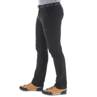 Чоловічі штани SH500 X-Warm для зимового туризму - Чорні