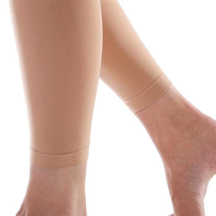 Medias sin pies mujer color carne