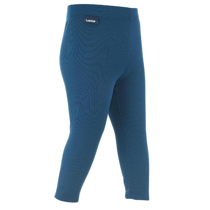 Sous-vêtement pantalon de luge simple warm marine bébé - 1244075
