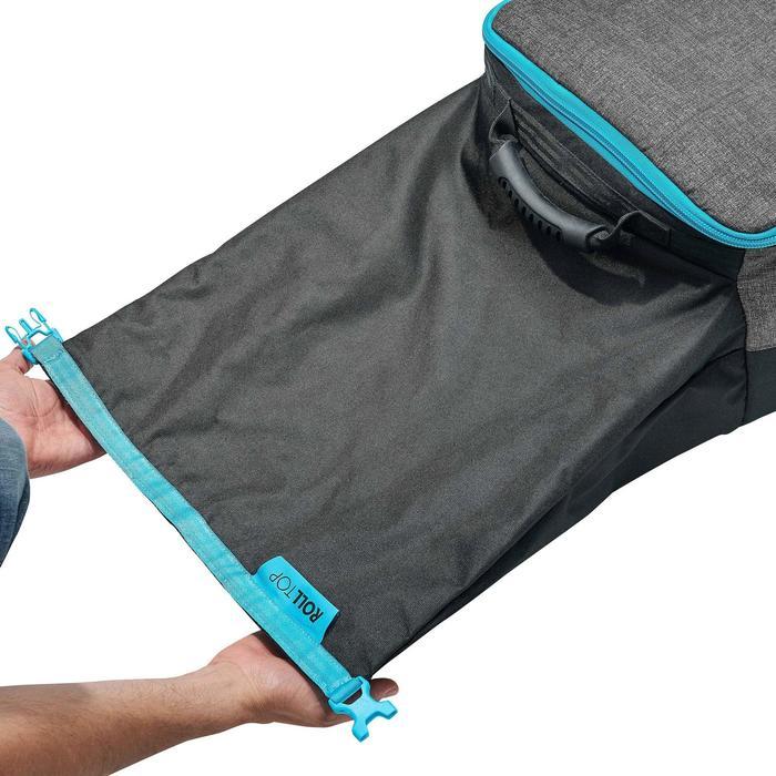 可容納4組雙板/3塊單板滑雪板的收納袋900 - 灰色