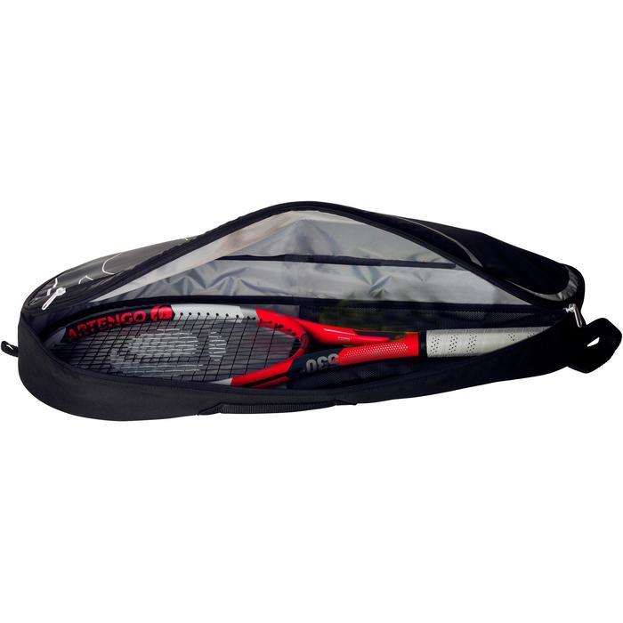 Set de raquette de tennis TR 530 lite Rouge avec sa housse pour les accessoires - 1244152