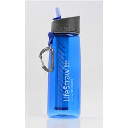 Cantimplora filtrante trekking Lifestraw Go 0,65 litros plástico (Tritán) azul