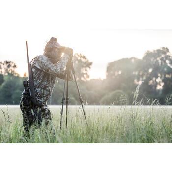 Jagd-Fleecejacke Actikam 300 Camouflage braun