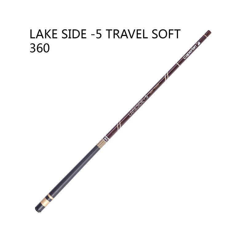CANNE PÊCHE AU COUP LAKESIDE-5 souple de voyage 360