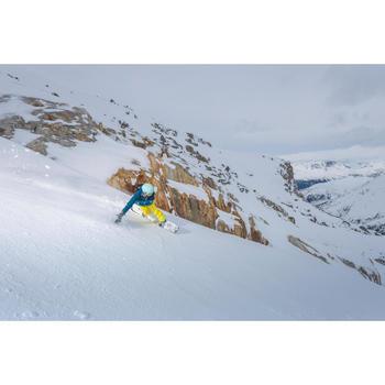 VESTE DE SKI ET SNOWBOARD FEMME FREE 500 BLEUE - 1244981