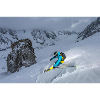 Veste de ski freeride homme free 700 rouge bleue - 1244982