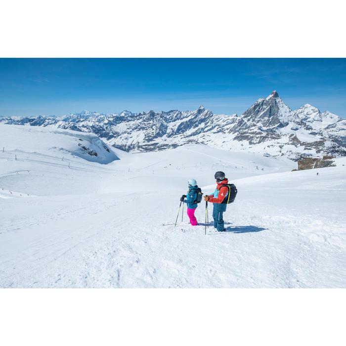 SKI- EN SNOWBOARDJAS DAMES FREE 500 BLAUW