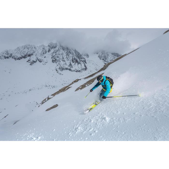 Veste de ski freeride homme free 700 rouge bleue - 1244986