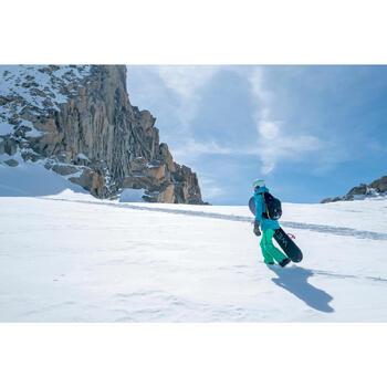 Snowboardwanten voor heren en dames Free 900 kaki