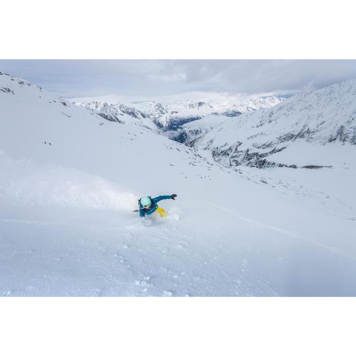 VESTE DE SKI ET SNOWBOARD FEMME FREE 500 BLEUE - 1244992