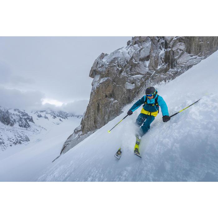 Veste de ski freeride homme free 700 rouge bleue - 1244993