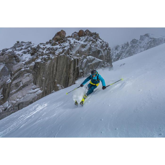 Veste de ski freeride homme free 700 ketchup - 1244995