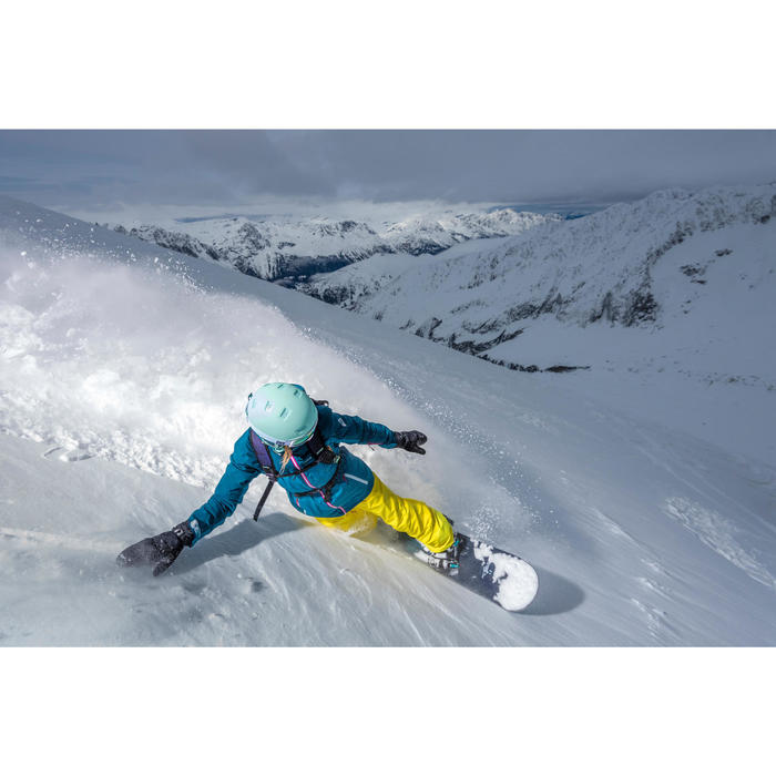 Casque de ski et snowboard adulte H-FS 300 jaune. - 1244996