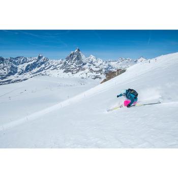 VESTE DE SKI ET SNOWBOARD FEMME FREE 500 BLEUE