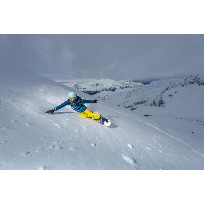 VESTE DE SKI ET SNOWBOARD FEMME FREE 500 BLEUE - 1245000