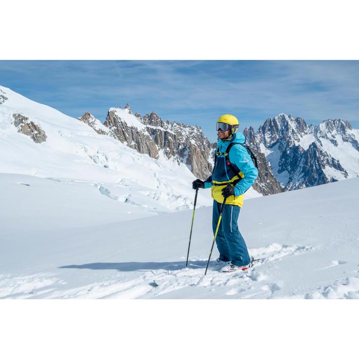 Pantalon de ski freeride homme free 500 petrole
