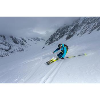 Heren skibroek voor freeride Free 500 petroleumblauw