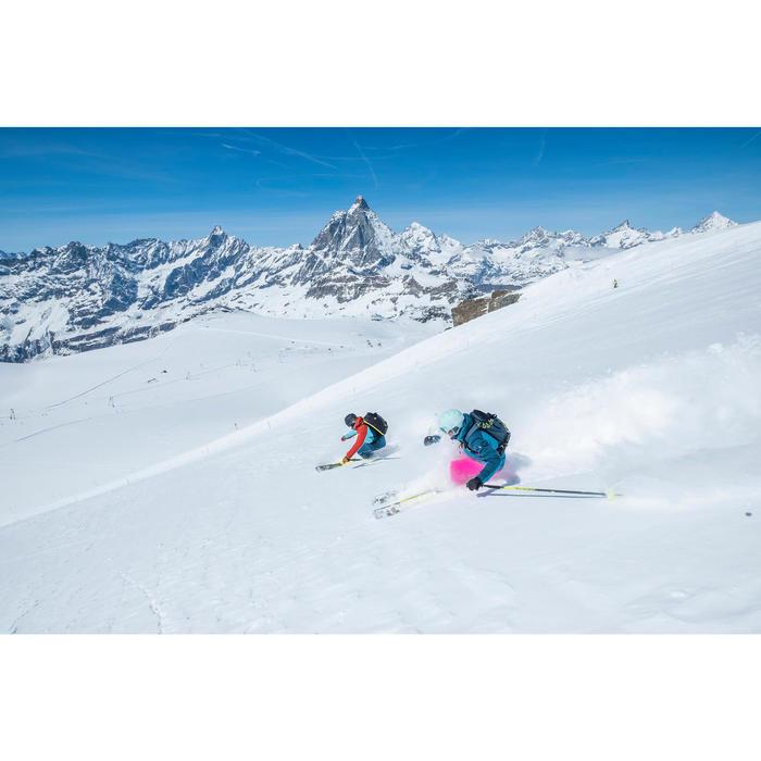 Veste de ski freeride homme free 700 rouge bleue - 1245005