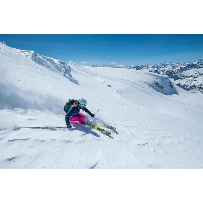 VESTE DE SKI ET SNOWBOARD FEMME FREE 500 BLEUE - 1245009
