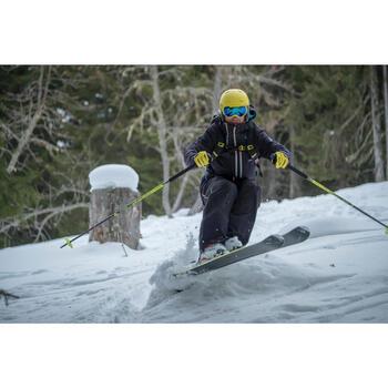 Ski-snowboardbril Bones 700 heren fotochroom geel alle weer 18