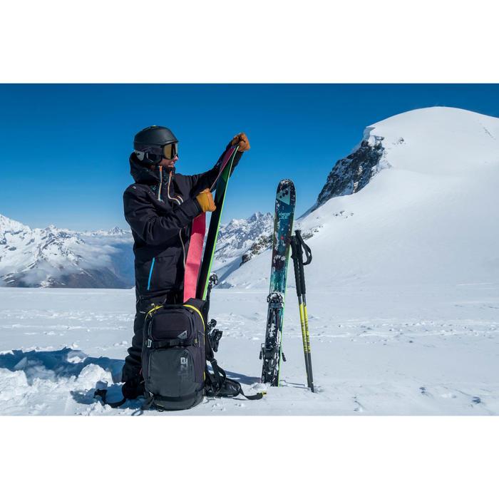 Casque de ski Freeride adulte Carv 700 Mips noir.