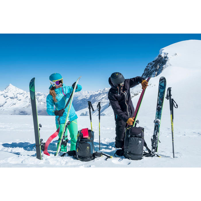 Veste de ski freeride homme free 900 noire - 1245021
