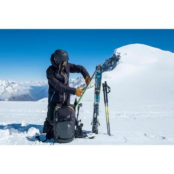 Heren skibroek Free 900 voor freeride zwart
